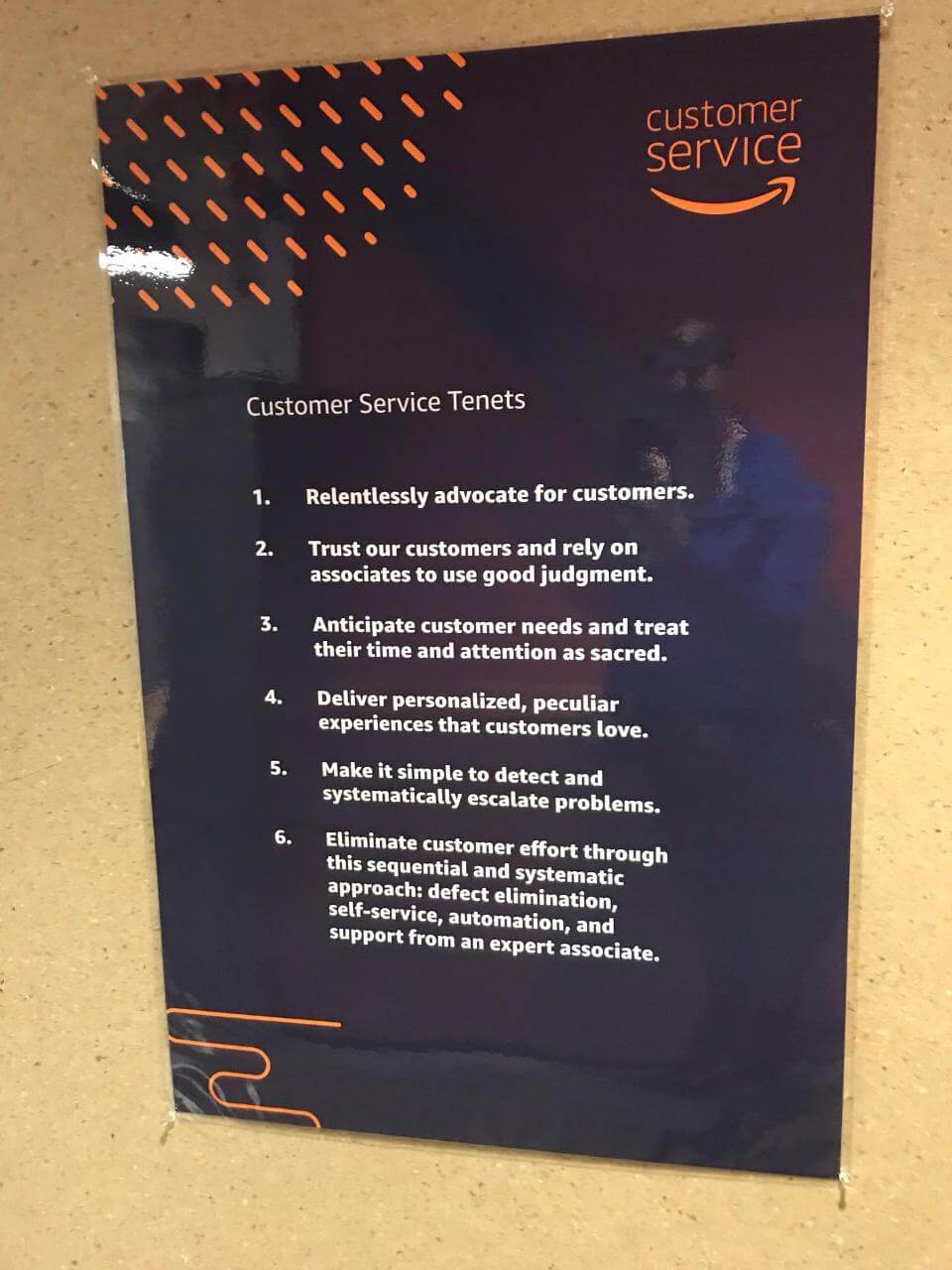 Amazon Customer Service Tenets