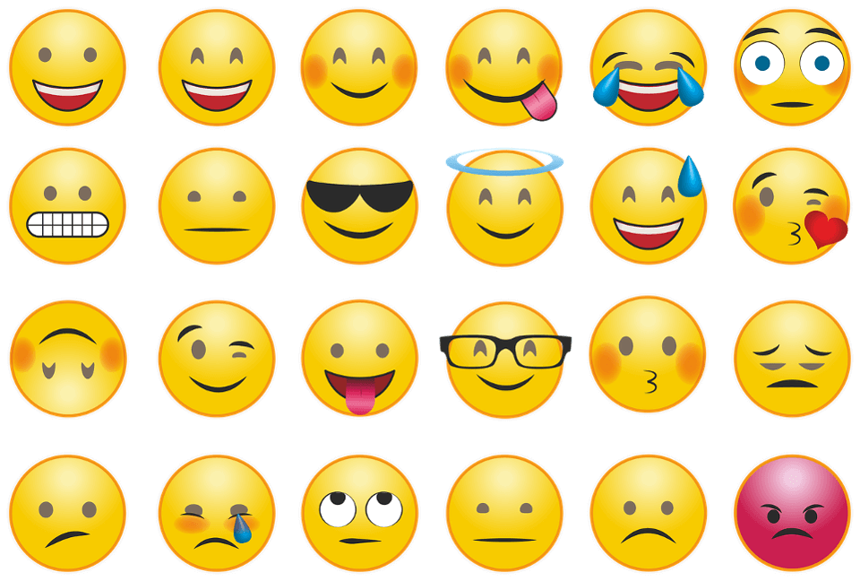 Examples of emojis