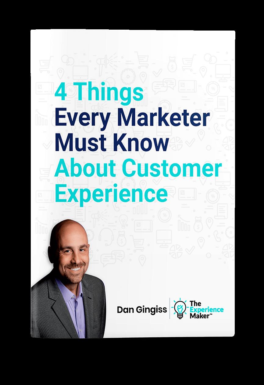 Dan Gingiss White Paper customer experience