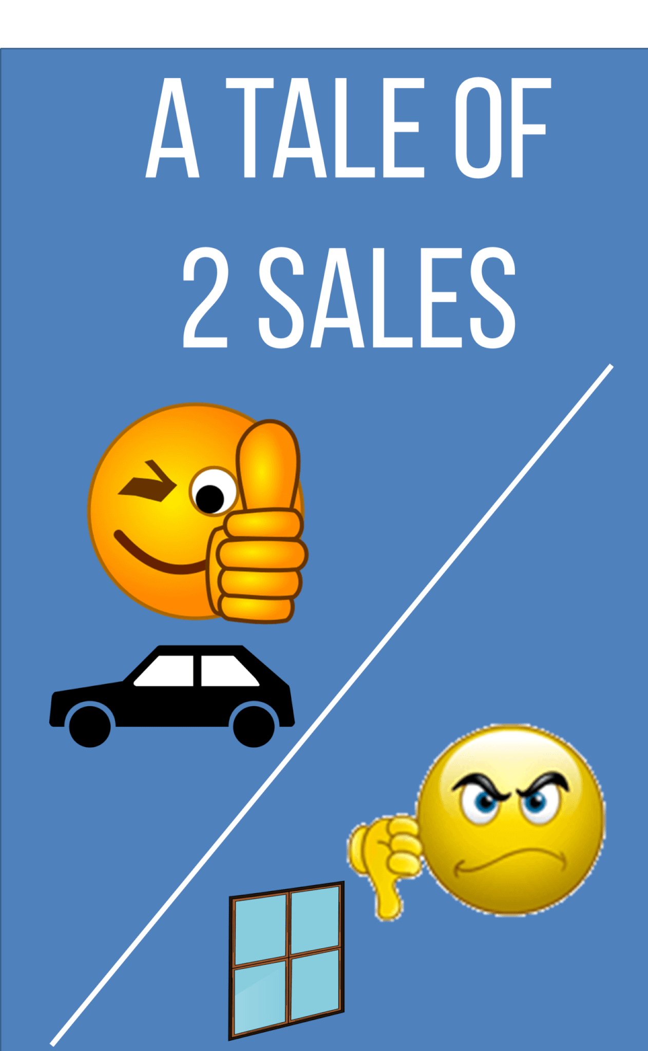 Tale of 2 Sales