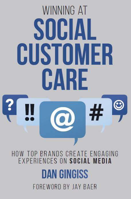 Winning at Social Customer Care Book